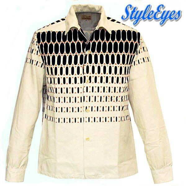 スタイルアイズ StyleEyes キングオブロックンロールエルヴィス・ドットシャツ se27724