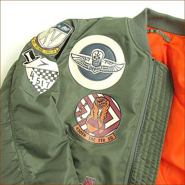 AVIREX avirex 馬 1 件夾克飛行夾克 avirex 馬 1 avirex 馬 1 壯志淩雲夾克尼龍飛行夾克馬 1