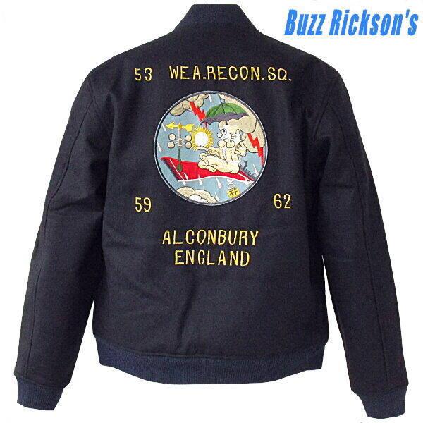 ミリタリージャケット BUZZ RICKSON'Sバズリクソンズのツアージャケット [53nd WEATHER RECON. SQ. ]リバーシブル