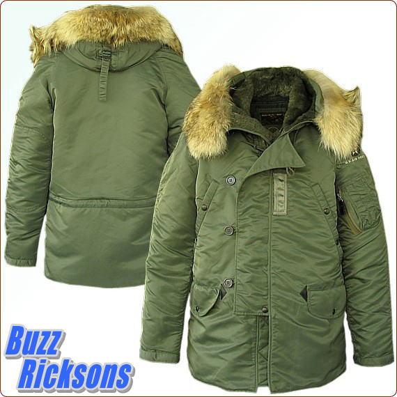 ミリタリージャケット バズリクソンズ BUZZ RICKSON'S Type N-3B Slender Original Spec. 『Buzz Rickson Mfg,Co.2012 』