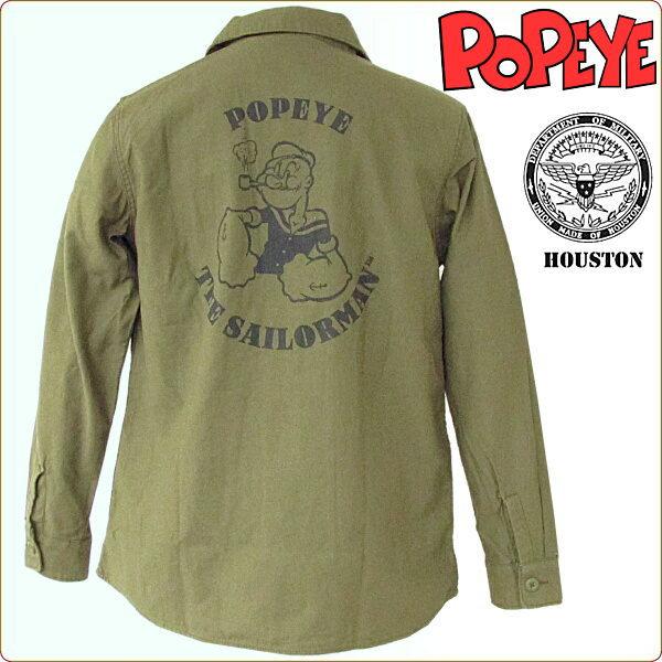 Qs Gate Houston Houston Cotton Work Shirt Long Sleeve Military Popeye Rakuten Global Market