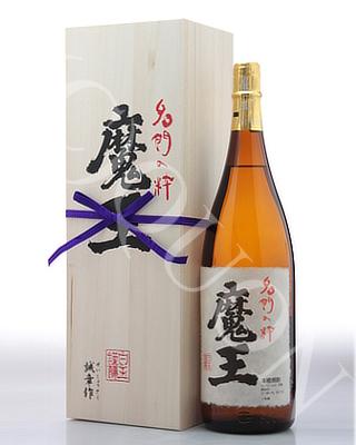 魔王(純正桐箱入り)1800ml [25度] 芋焼酎【白玉醸造/鹿児島県】