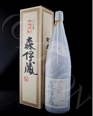 森伊蔵1800ml純正化粧箱入り [25度] 芋焼酎【森伊蔵酒造/鹿児島県】