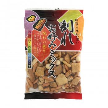 送料無料 タクマ食品 20袋入×5箱 低価格化 割れお好みミックス 賜物