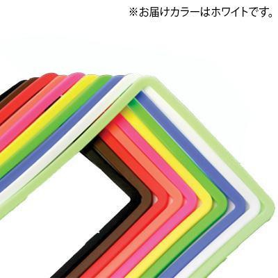 AWESOME 高い素材 オーサム ナンバープレートフレームシリコンカバー AS-NPC-09 4560490011826 ホワイト 激安超特価