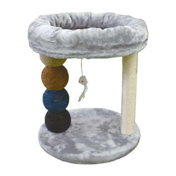 キャットタワー ベッド型ミニタワー 978923:QT-Life