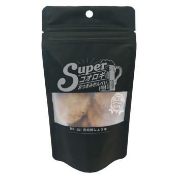 スーパーコオロギおつまみせんべい 黒胡椒しょうゆ 25g 60袋セッ