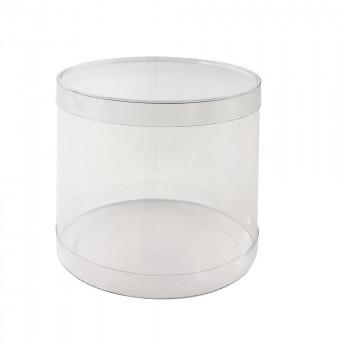 超人気 送料無料 梱包資材 高価値 ラッピング用品 クリアケース PVC円筒ケース 201210 80個セット M12-10