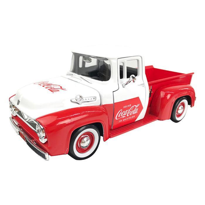 送料無料 MOTORCITY CLASSICS Coca-Cola フォード F-100 ピックアップ 1955 自販機アクセサリー付 1/24スケール 424055  0687312240555 MOTORCITY CLASSICS Coca-Cola フォード F-100 ピックアップ 1955 自販機アクセサリー付 1/24スケール 424055