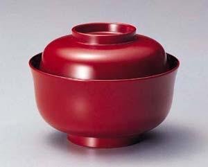 越前塗 ちどり型 煮物椀 古代朱 5客