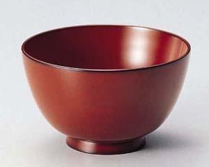 木製越前塗 汁椀 古代朱