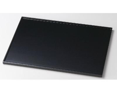 木製越前塗 尺3長角膳 黒