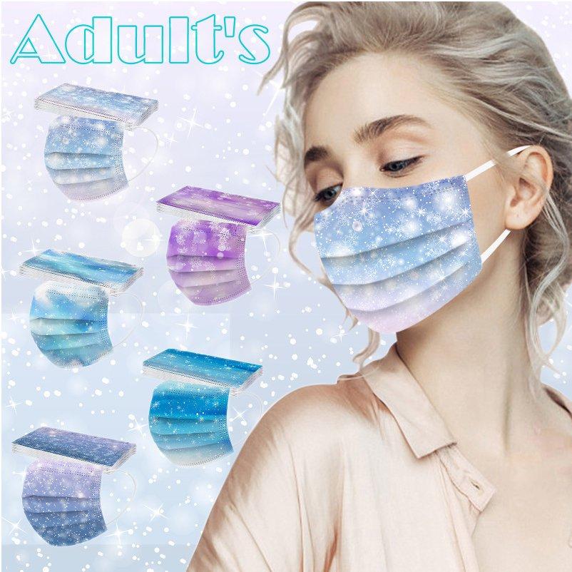 マスク 使い捨て UVカット 50枚 花柄 内祝い 大人用 送料無料 使い捨てマスク 不織布 3D 立体 早割クーポン 三層構造 個性的 防塵 不織布マスク 通気 防寒 軽く 紫外線 新色 呼吸やすい オシャレ 通気性拔群