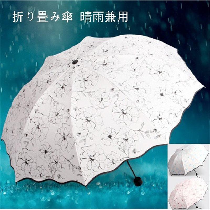 日傘 折り畳み傘 手動式 モデル着用&注目アイテム かさ カサ 晴雨兼用 紫外線 対策 遮熱 uvカット 定番 軽量 おしゃれ ひんやり傘 折りたたみ 遮光 傘 折りたたみ傘 レディース