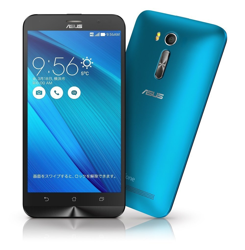 「新品 未使用品」SIMフリー ASUS ZenFone Go ZB551KL RAM2GB 16GBメモリー ブルー blue [ASUS][simfree][格安]