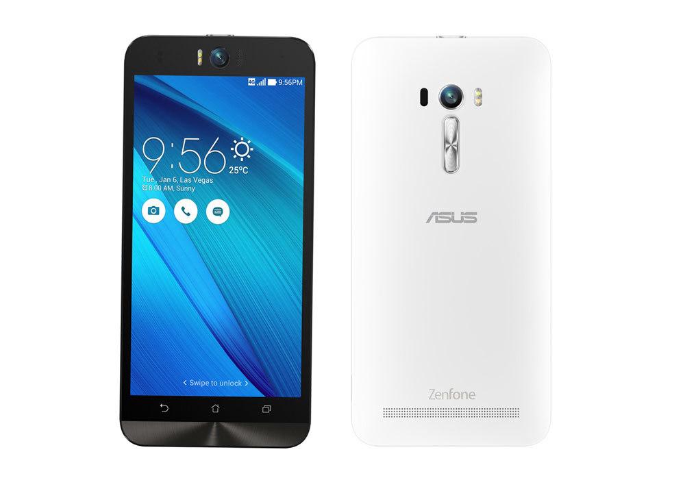 「新品 未開封品」SIMフリー ASUS ZenFone Selfie white 「ZD551KL-WH16」2GB/16GB SIMフリースマートフォン [ASUS][simfree][格安]