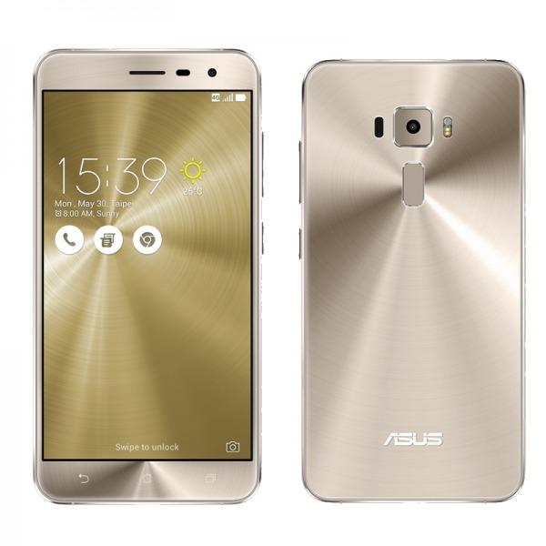 「新品 未開封品」SIMフリー ASUS ZenFone3 Series ゴールド 「ZE520KL-GD32S3」3GB/32GB SIMフリースマートフォン [ASUS][simfree][格安]