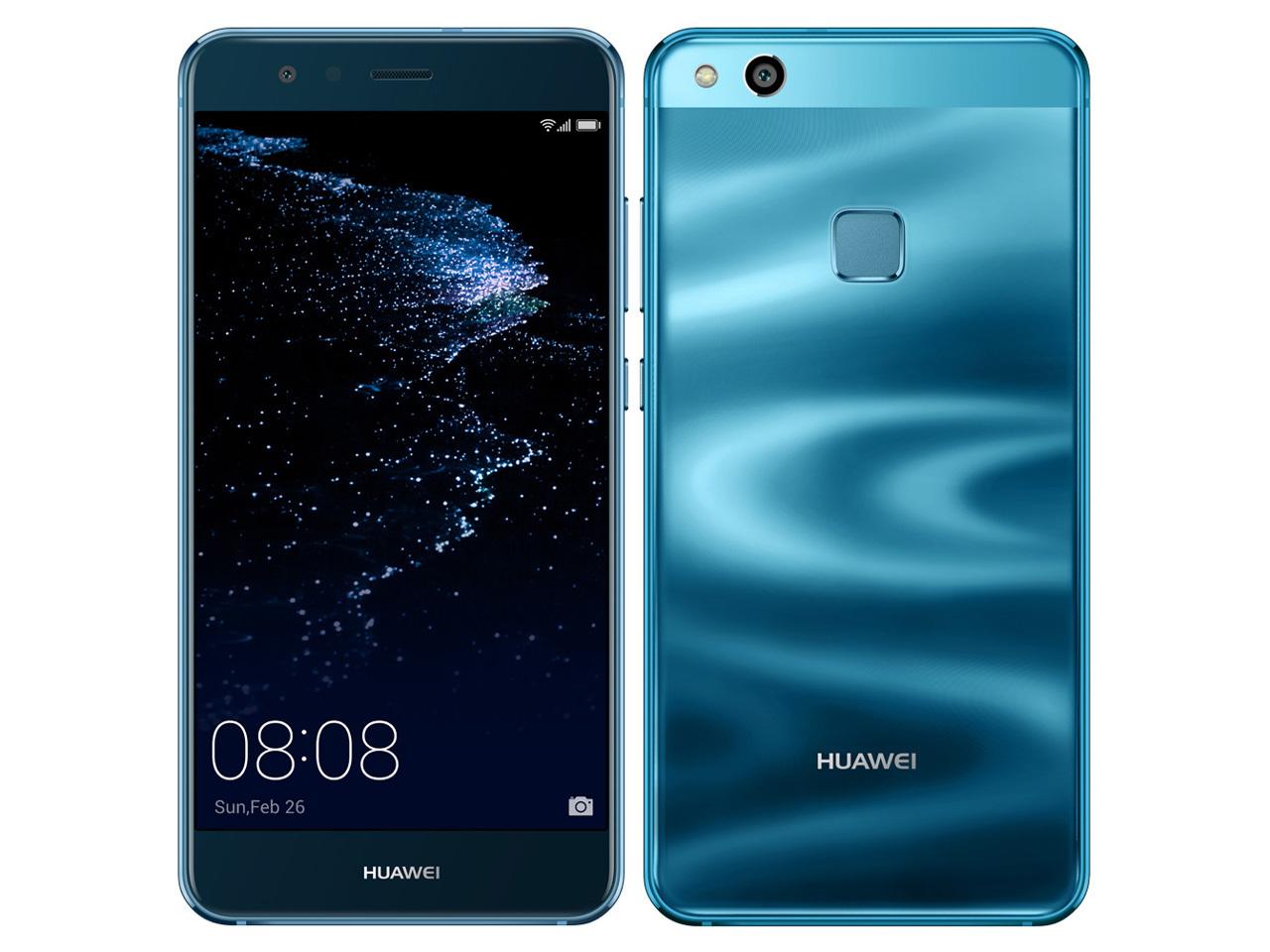 「新品 未使用品」UQmobile Huawei(ファーウェイ) P10 Lite WAS-LX2J sapphire blue サファイアブルー [LTE対応] [SIMフリースマホ]