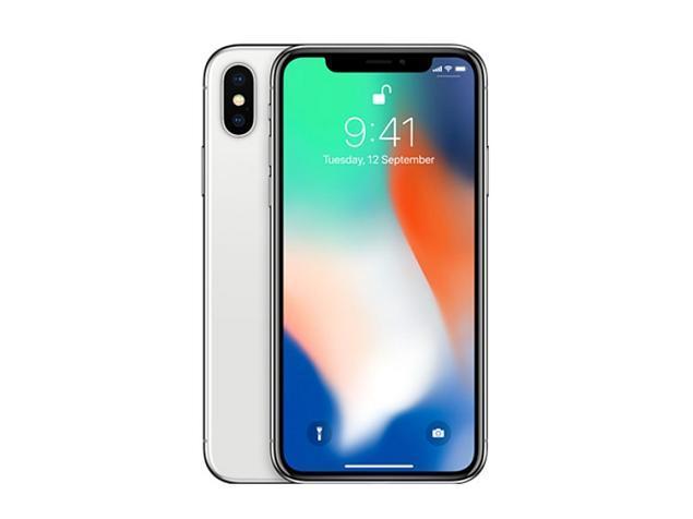 「新品 未使用 国内正規品」SIMフリー Docomo iPhone X 64GB Silver シルバーMQAY2J/A [Apple][アイフォン]