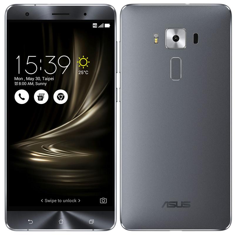 「新品 未開封品」SIMフリー ASUS ZenFone 3 Deluxe zs570kl silver シルバー[zs570kl-sl256s6][6G/256GB][ASUS][simfree]