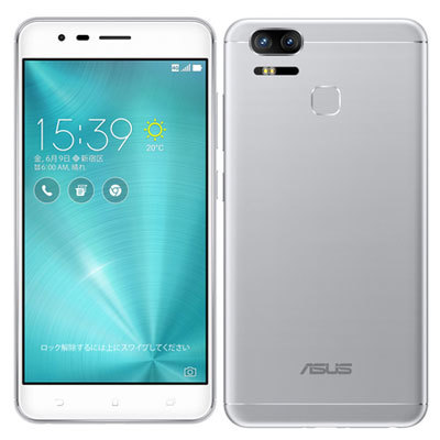 「新品 未開封品 国内正規品」SIMフリー ASUS ZenFone Zoom S ze553kl silver シルバー [4G/64GB][ASUS][simfree]