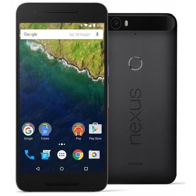 「新品 未使用品 」SIMフリー ymobile Nexus 6P 32GB grey グレー[h1512][ymobileからSIMロック解除済]