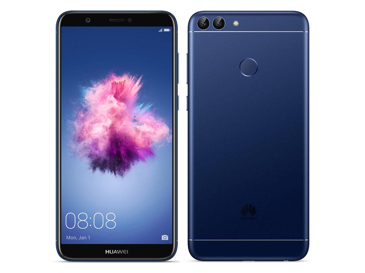「未開封品」SIMフリー Huawei nova lite 2 blue ブルー [FIG-LA1][simフリースマホ]