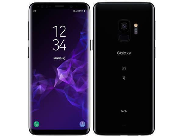 「新品 未使用品 白ロム」au SIMロック解除 Galaxy S9 scv38 ブラック ※赤ロム保証[サムソン/Samsung][SIMフリー]