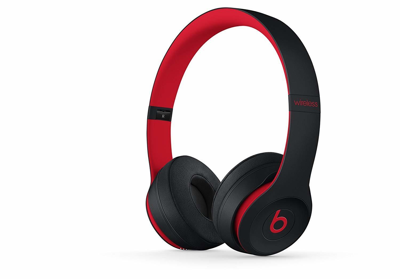国内正規品 未開封品 Beats 安い Solo3 モデル着用 注目アイテム Wireless レジスタンス オンイヤーヘッドフォン MRQC2PA ブラックレッド A