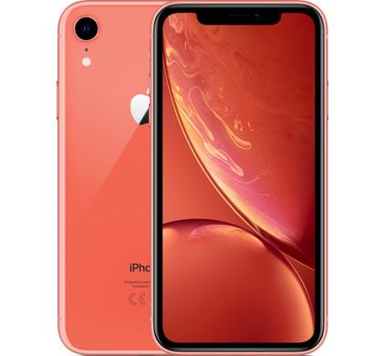 「新品 未使用 国内正規品」SIMフリー au iPhone XR 128GB Coral コーラル MT0T2J/A [au からSIMロック解除 ][Apple/アップル][アイフォン]