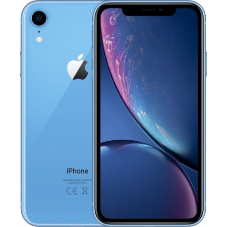 「新品 未使用 国内正規品」SIMフリー au iPhone XR 64GB BLUE ブルー MT0E2J/A [auからSIMロック解除 ][Apple/アップル][アイフォン]