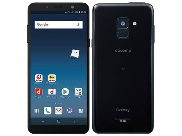 「新品 未使用品 白ロム」SIMロック解除 docomo Galaxy Feel2 SC-02L Opal Black ブラック※赤ロム保証[サムソン/Samsung][SIMフリー]