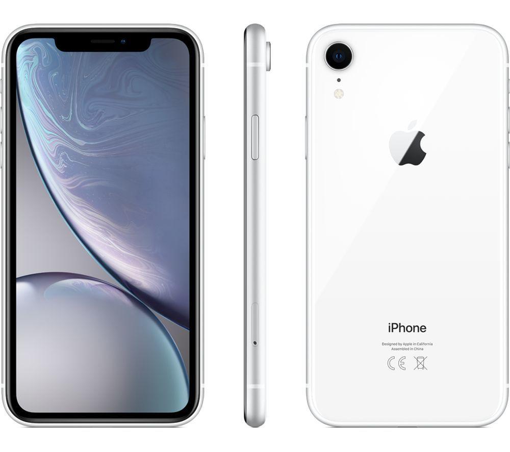 「新品 未使用 白ロム」 docomo iPhone XR 64GB white ホワイト MT032J/A ※赤ロム保証 [Apple/アップル][アイフォン]