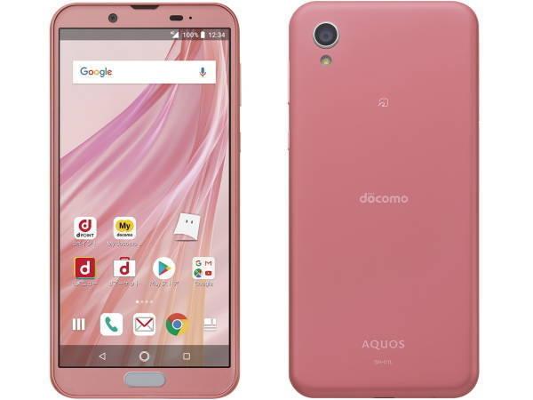 「新品 未使用品 白ロム」simフリー docomo AQUOS Sense2 SH-01L Blossom Pink ピンク ※赤ロム保証 [docomo simロック解除][SHARP]