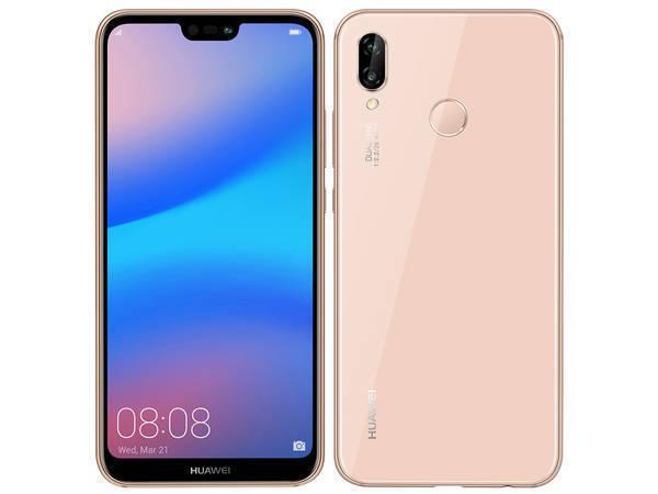 「新品 未使用品」Huawei UQ版 P20 lite hwu34 ピンク pink [ane-lx2j] [32gb/4gb][simfree][simフリー]