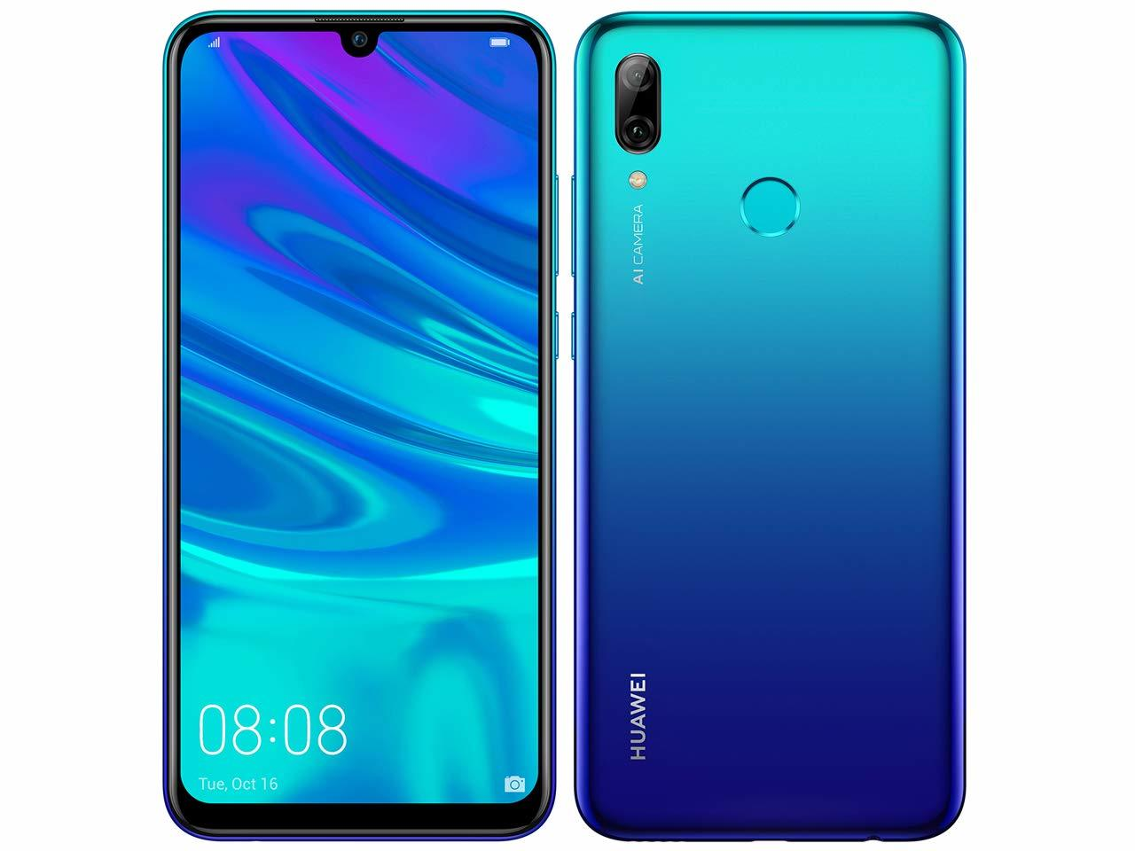 「新品・未使用品」UQ版 Huawei nova lite 3 blue ブルー [hwu35][POT-LX2J][simフリースマホ]