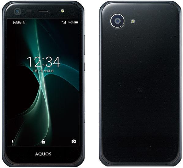 「新品 未使用品 白ロム」SIMフリー Sharp AQUOS Xx3 mini 603SH black ブラック※赤ロム永久保証 [シャープ]「softbankからSIMロック解除済み]