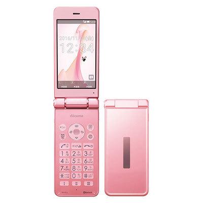 「新品 未使用品 白ロム」simフリ― docomo SH-01J pink ピンク [白ロム][折りたたみ][ガラケー][携帯電話][sharp/シャープ]