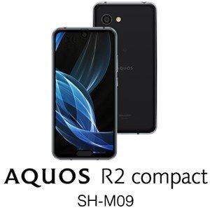 「新品 未使用品」 simフリー AQUOS R2 compact SH-M09 ピュアブラック [シャープ][AQUOS][アクオス][simfree]