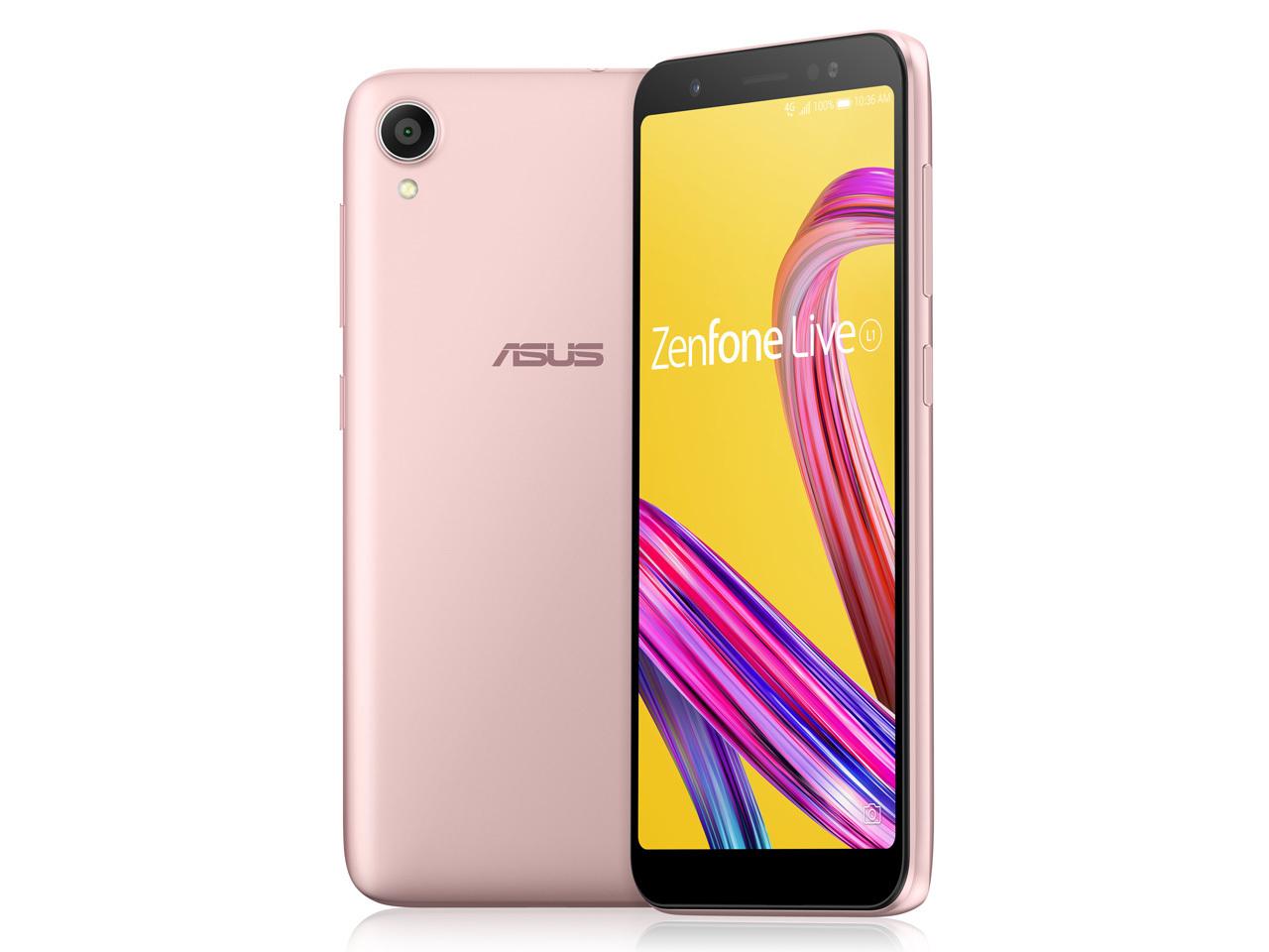 「新品 未開封品」SIMフリー ASUS ZenFone Live L1 ZA550KL pink [simfree]