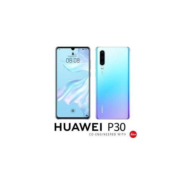「新品 未開封品」Huawei simフリー P30 ブリージングクリスタル [ELE-L29] [128gb/6gb][simfree]