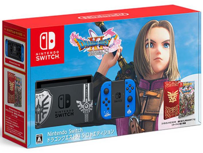 「新品 未使用品」 Nintendo Switch 本体 ドラゴンクエストXI S ロトエディション [任天堂][ゲーム機][HAD-S-KBAEA]