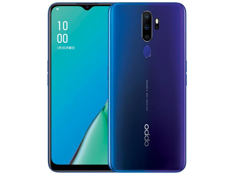 [CPH1943][4GB/64GB] A5 Blue SIMフリー 2020 OPPO 「新品・未開封品」 ブルー [oppo][モデル]