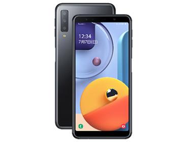 「新品 未使用品 」SIMフリー Galaxy A7 SM-A750C black [モバイル対応] [サムソン/Samsung][simfree]