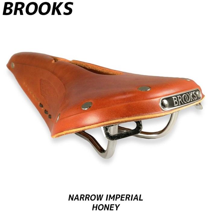 BROOKS ブルックス B17 NARROW IMPERIAL ナロー サドル ハニー 革 ロードバイク 自転車