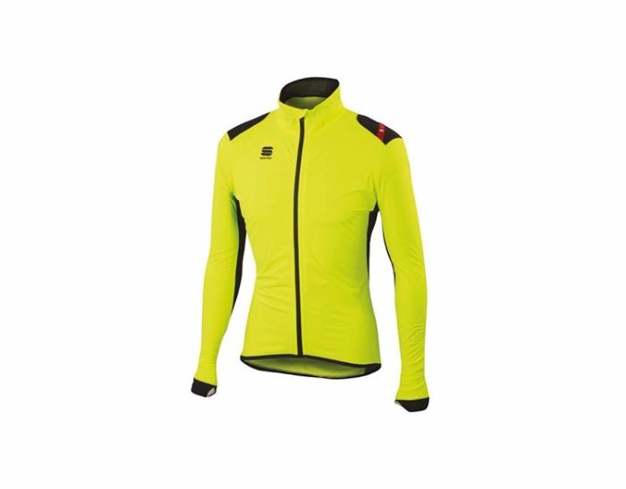 Sportful(スポーツフル) Hotpack No Rain ホットパック ノーレイン Jacket レインジャケット (L, Yellow/Black) レインウェア 自転車 ロードバイク