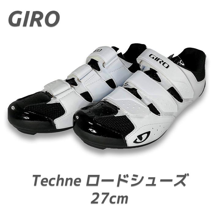 Giro ( ジロ ) Techne ロードバイクシューズ ( 27cm (EU42), ホワイト )