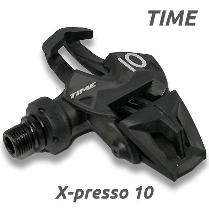 TIME タイム XPRESSO 10 タイムエクスプレッソ10 X-Presso ペダル Road Pedals ブラック クリート 2018年モデル 自転車 ロードバイク
