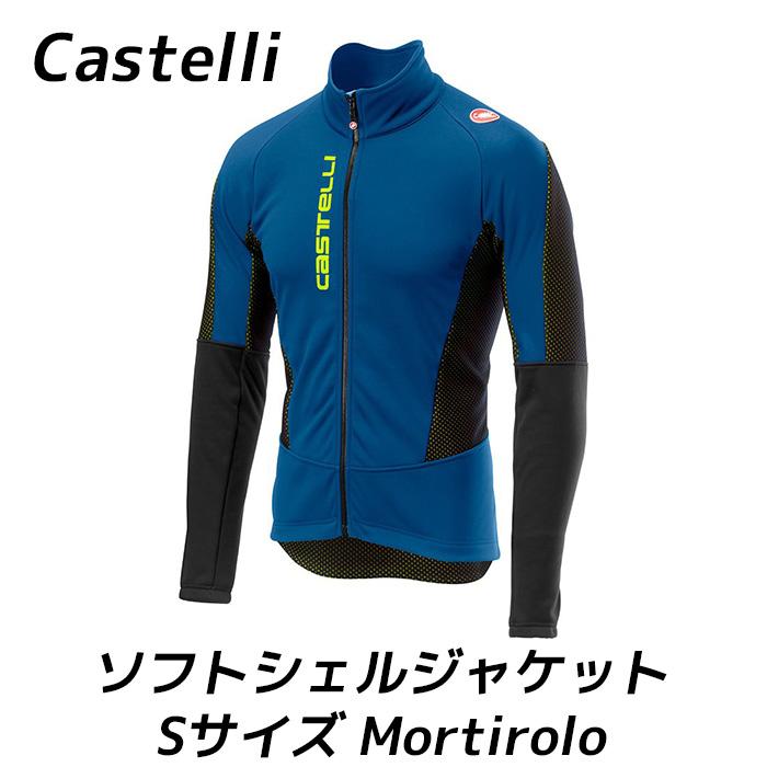 Castelli カステリ ソフトシェル ジャケット モルティーロ Mortirolo V - Softshell Jacket Sサイズ 防寒 冬