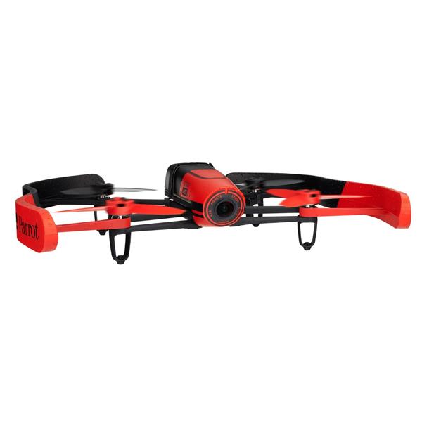 新品 ドローン Parrot Bebop Drone PF722040 [レッド]【即納】【送料無料】【メーカー保証】【02P03Dec16】